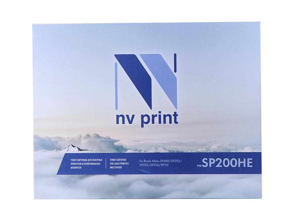 Картридж NV Print NV-SP200HE для Ricoh Aficio SP200/SP202/SP203/ SP210/SP212