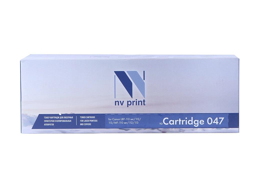 Картридж NV Print 047 для Canon гель лак для ногтей pupa lasting color gel 047 цвет 047 amber shine variant hex name ea857d