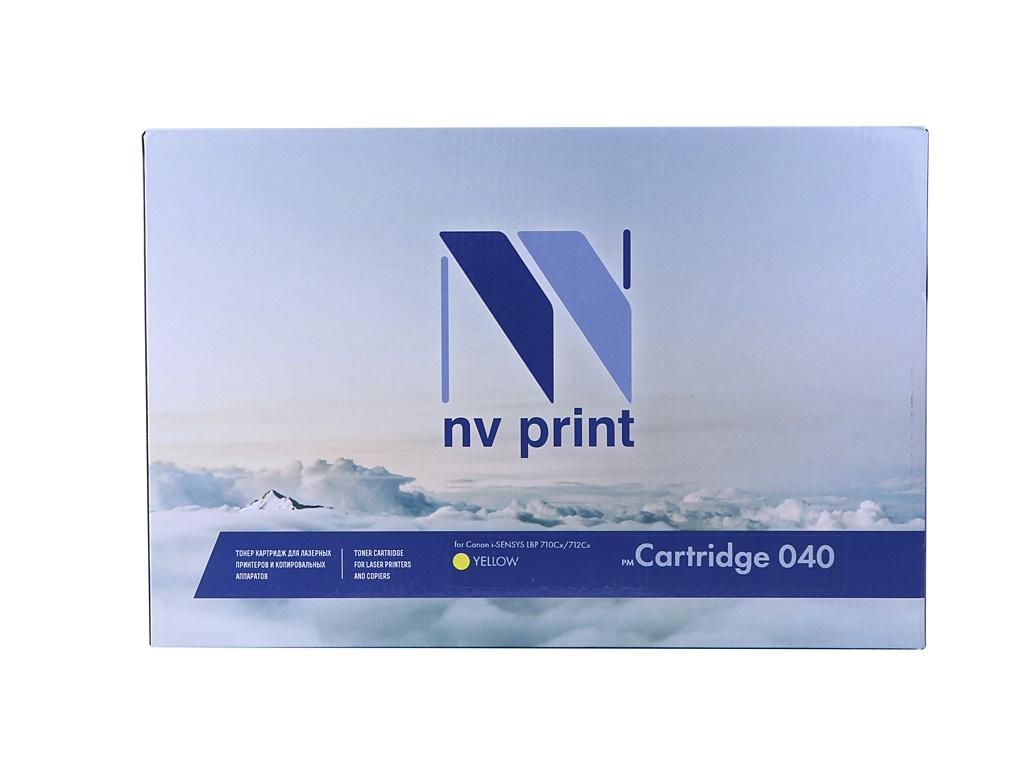 Картридж NV Print NV-040Y Yellow для Canon i-SENSYS LBP 710Cx/712Cx