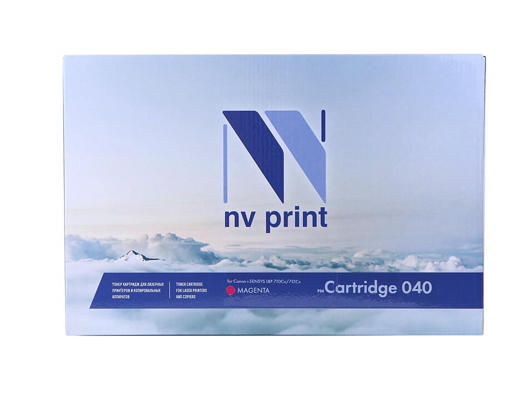 Картридж NV Print NV-040M Magenta для Canon i-SENSYS LBP 710Cx/712Cx NV-040M цена и фото