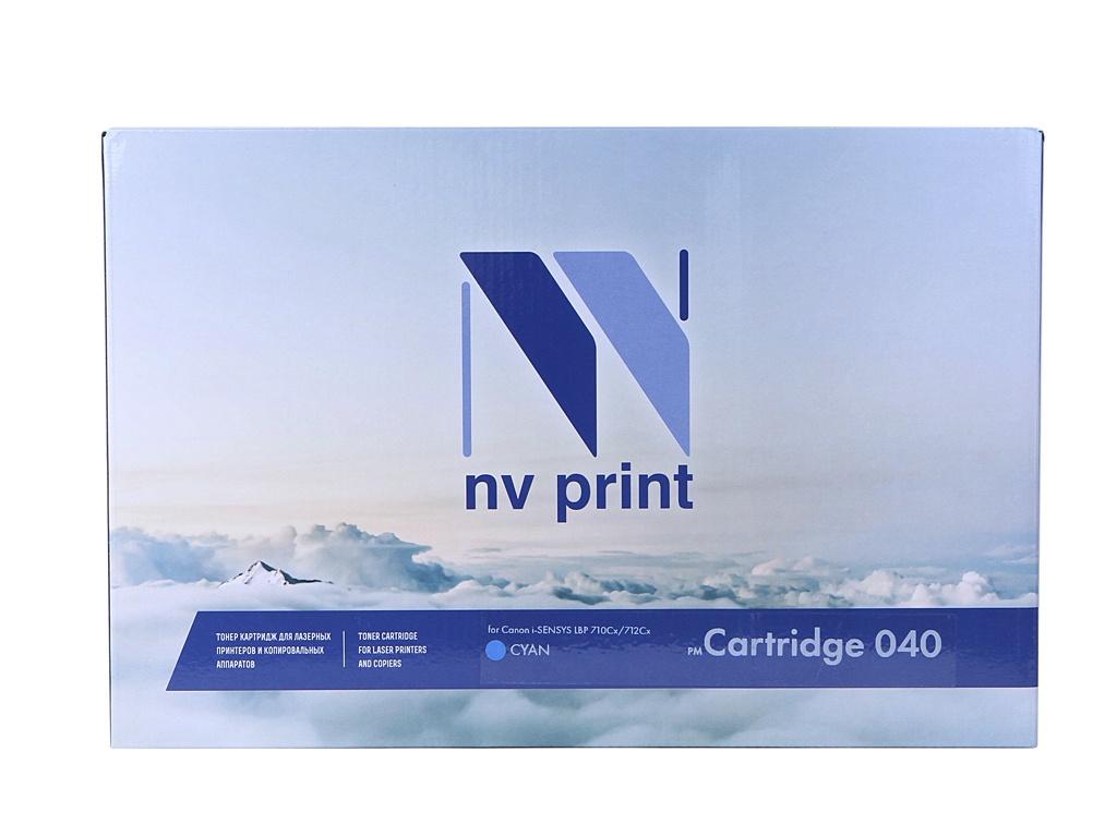 Картридж NV Print NV-040C Cyan для Canon i-SENSYS LBP 710Cx/712Cx