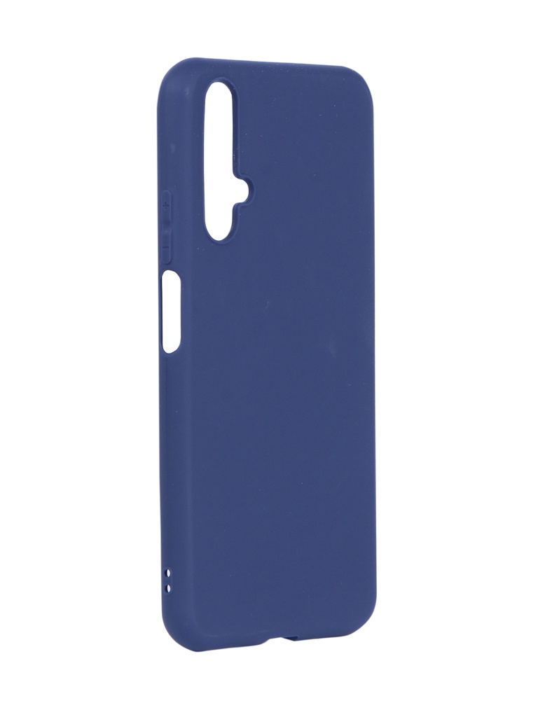 Аксессуар Чехол Neypo для Huawei Honor 20 Soft Matte Dark Blue NST13287
