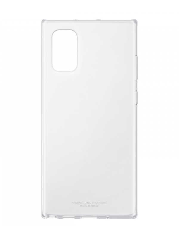 Чехол Samsung Galaxy Note 10 Plus Clear Cover EF-QN975TTEGRU