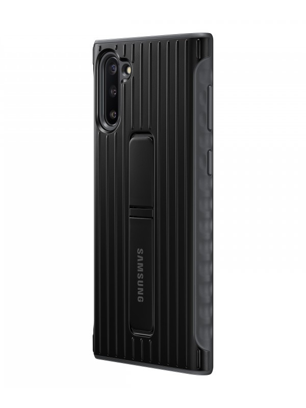 Чехол для Samsung Galaxy Note 10 Protective Standing Cover Black EF-RN970CBEGRU чехол книжка samsung для galaxy note 9 ef zn960cbegru clear view standing cover crown black