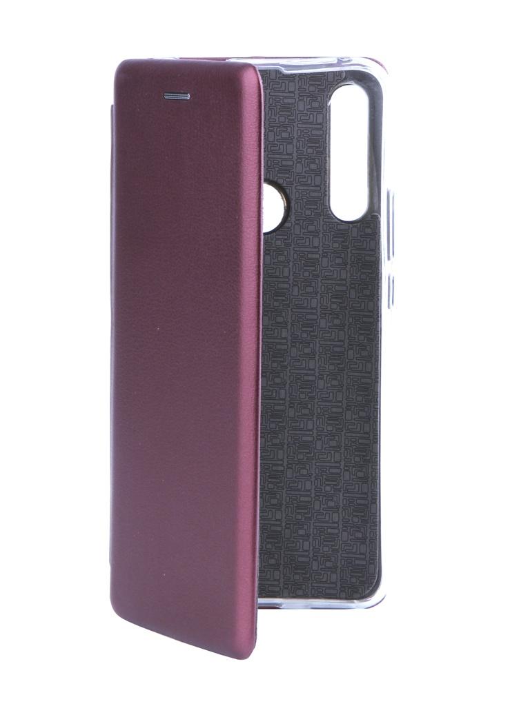 Чехол Neypo для Huawei P Smart Z Premium Burgundy NSB14486 аксессуар чехол для huawei p smart z black 51993123
