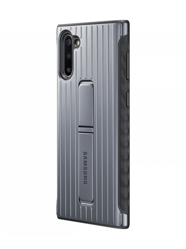 Чехол Samsung Galaxy Note 10 Plus Protective Standing Cover Silver EF-RN975CSEGRU