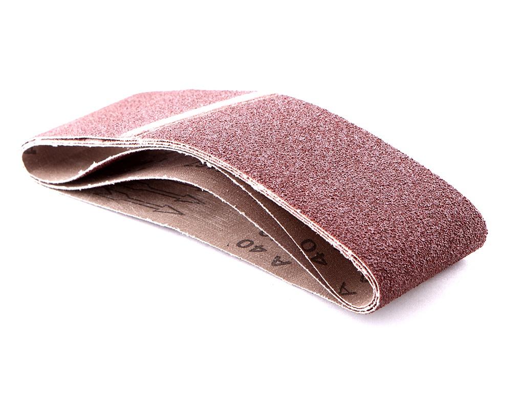 Шлифовальная лента Elitech 75х533mm P40 3шт 1110.006600