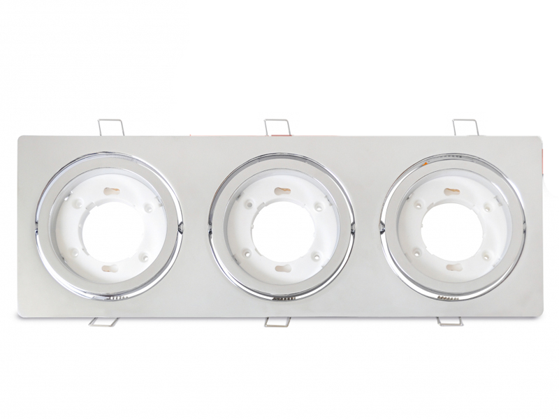 Светильник In Home GX53R-3ST-C 230V Chrome 4690612021584 светильник fametto dls l127 2001 luciole chrome glass