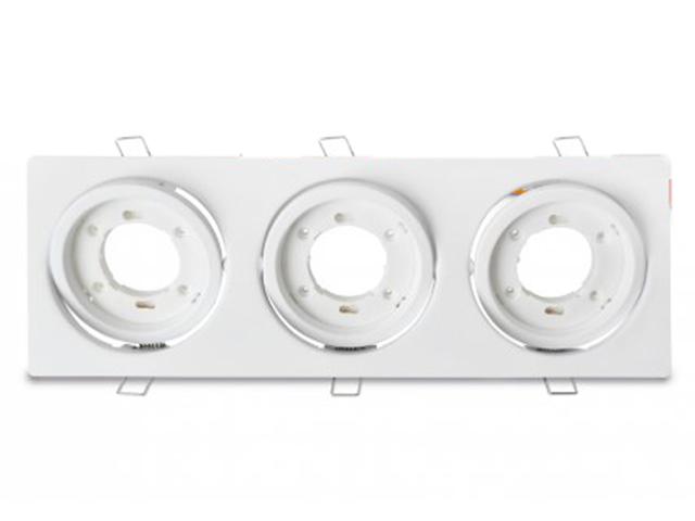 Светильник In Home GX53R-3ST-W 230V White 4690612021577
