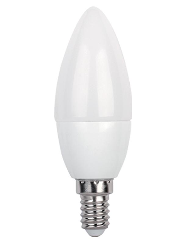 Лампочка In Home Свеча LED E14 8W 230V 3000К 600Lm Warm Light 4690612020426