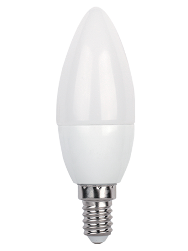 Лампочка In Home LED-СВЕЧА-VC Е14 8W 230V 6500К 600Lm 4690612024806