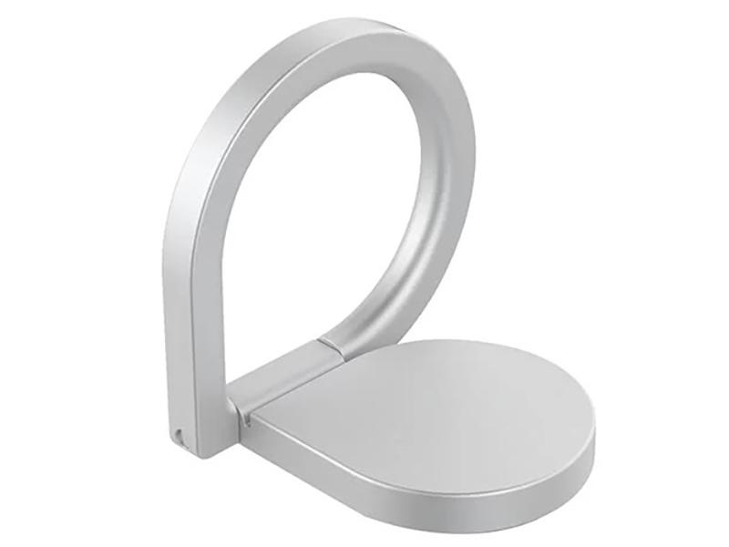 Кольцо-держатель для смартфона DF Blob-01 Silver