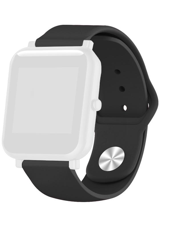 Аксессуар Ремешок DF для Xiaomi Amazfit Bip xiClassicband-01 Black