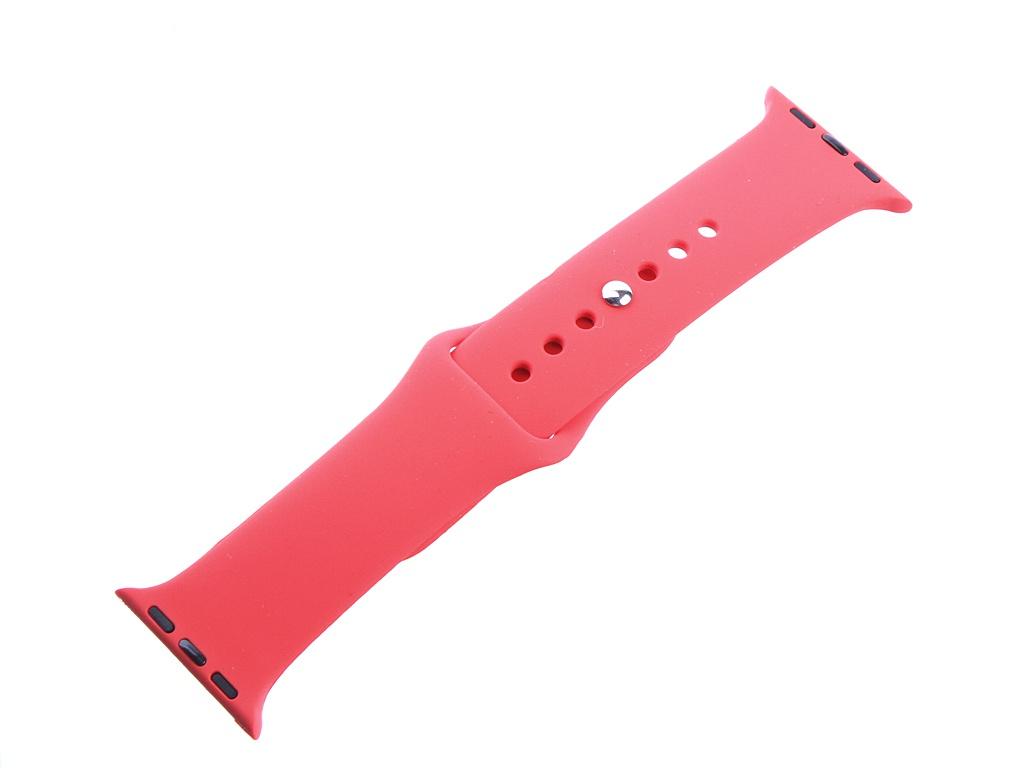Аксессуар Ремешок DF для Apple Watch 38mm/40mm iClassicband-01 Red