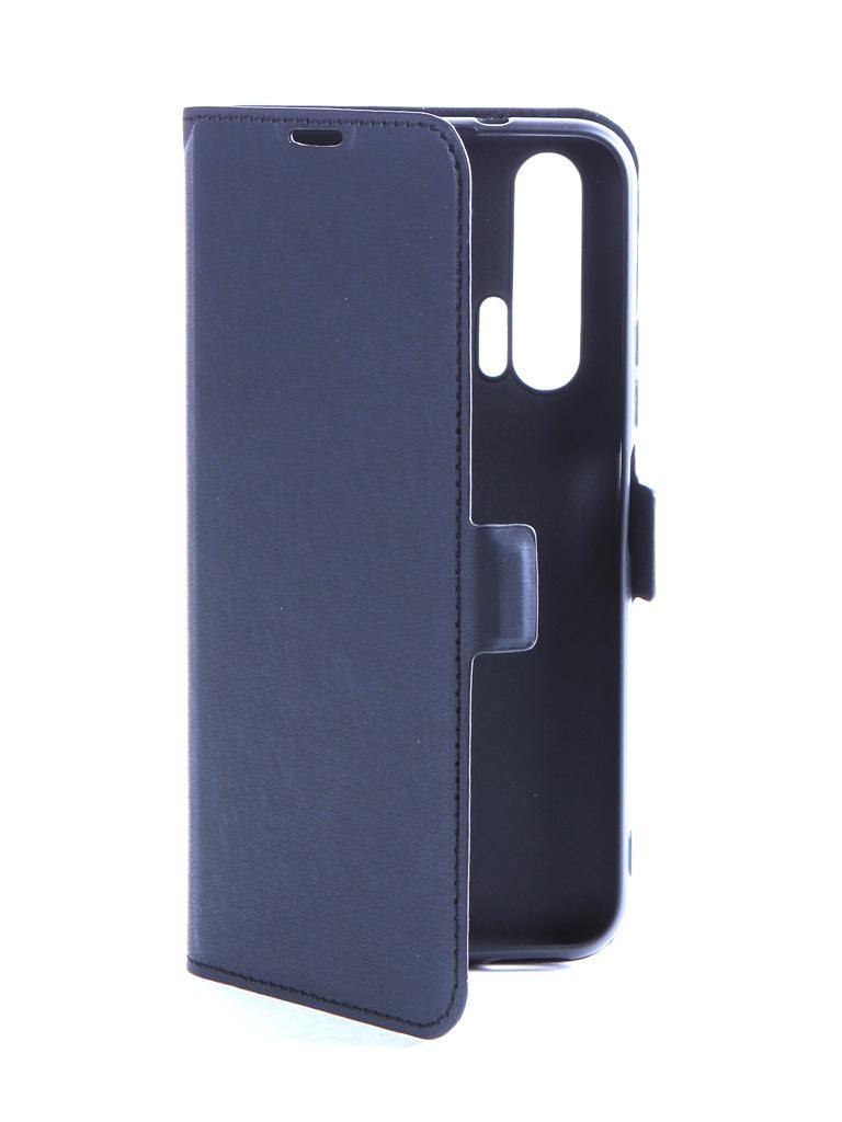Аксессуар Чехол DF для Huawei Honor 20 Pro hwFlip-73 Black
