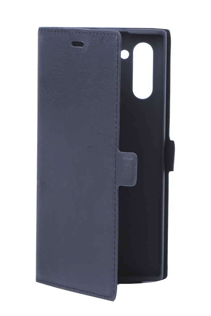Аксессуар Чехол DF для Samsung Galaxy Note 10 sFlip-46 Black