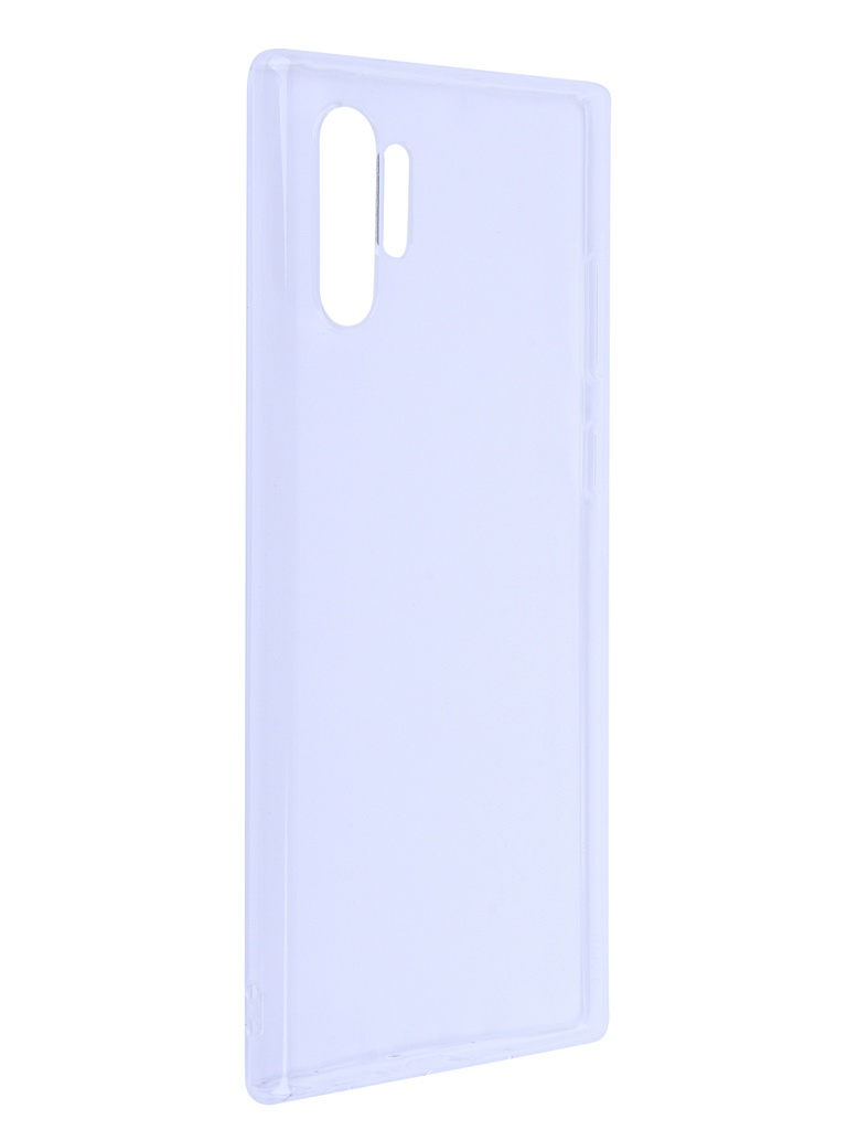 Аксессуар Чехол DF для Samsung Galaxy Note 10 Plus Silicone Super Slim sCase-81