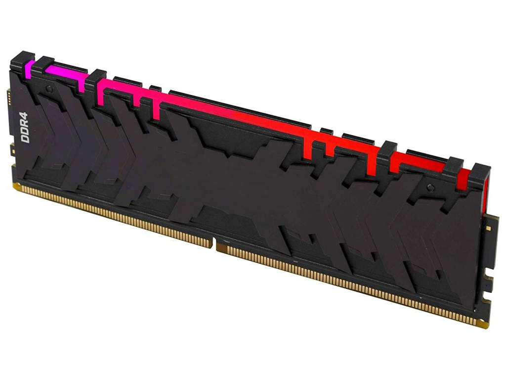 Модуль памяти Kingston HyperX Predator RGB DDR4 DIMM 3600Mhz PC-28800 CL17 - 8Gb HX436C17PB4A/8
