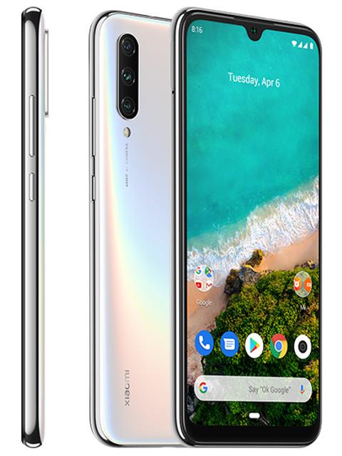 Сотовый телефон Xiaomi Mi A3 4Gb/64Gb White телефон xiaomi mi a3 4gb 64gb серый global version