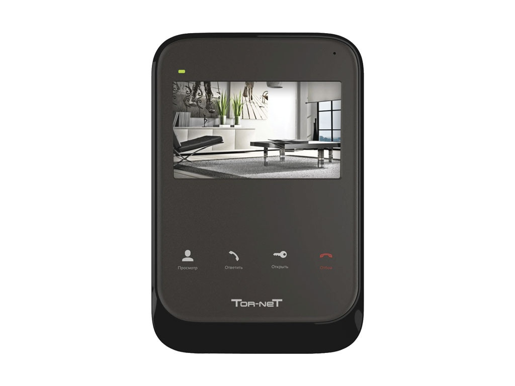 цены Видеодомофон Tor-neT TR-26M B