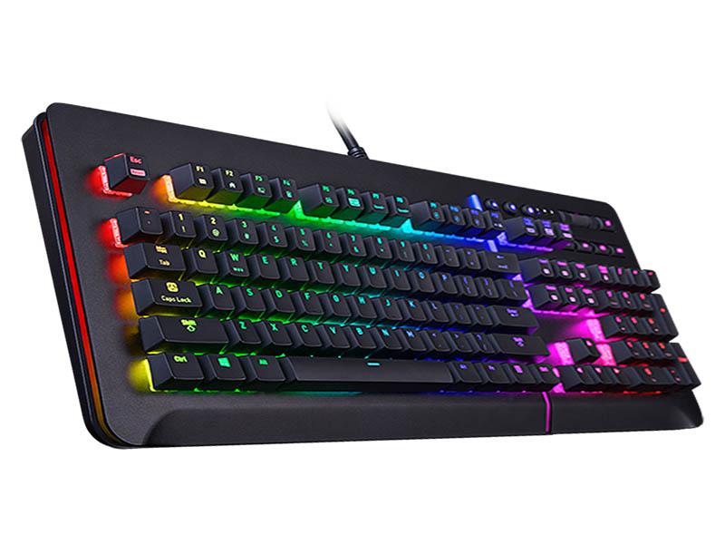 Клавиатура Tt eSports Level 20 RGB USB Black KB-LVT-SSBRRU-01