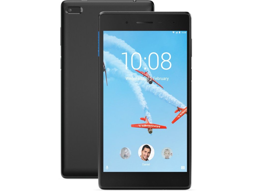 Планшет Lenovo Tab 7 TB-7304F Black ZA300211RU (MediaTek MT8167D 1.3 GHz/1024Mb/8Gb/GPS/Wi-Fi/Bluetooth/Cam/7.0/1024x600/Android)