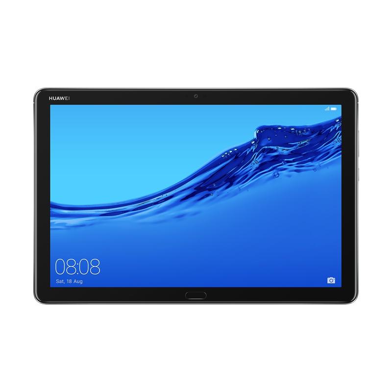 Планшет Huawei MediaPad M5 Lite 10.0 Grey 53010GGH (Kirin 659 2.3GHz/3072Mb/32Gb/GPS/LTE/3G/Wi-Fi/Bluetooth/10.1/1920x1200/Android)