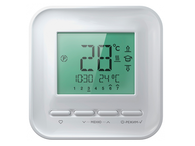 Терморегулятор Теплолюкс 520 White