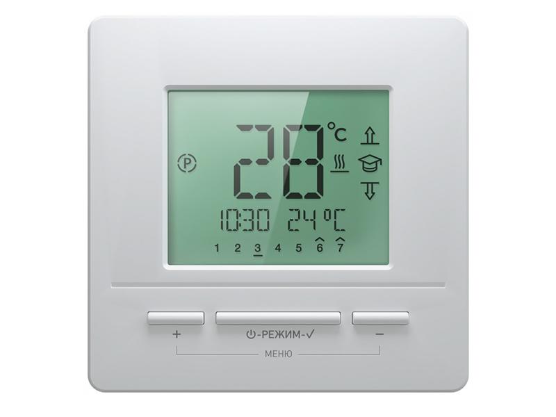 Терморегулятор Теплолюкс Национальный Комфорт 721 White