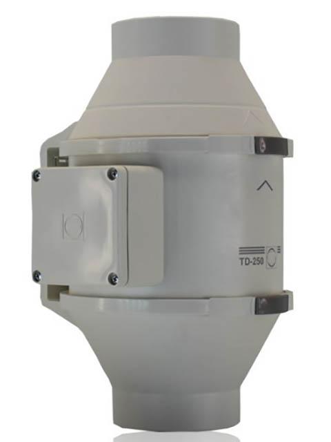 Канальный вентилятор Soler & Palau TD250/100