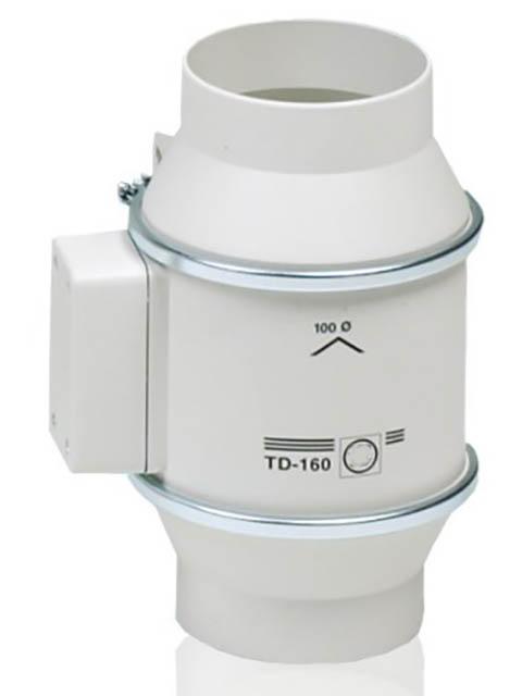 Канальный вентилятор Soler & Palau TD160/100 N Silent