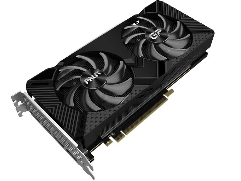 Видеокарта Palit GeForce RTX 2060 Super GP OC 1470Mhz PCI-E 3.0 8192Mb 14000Mhz 256 bit HDMI 3xDP NE6206SS19P2-1062A