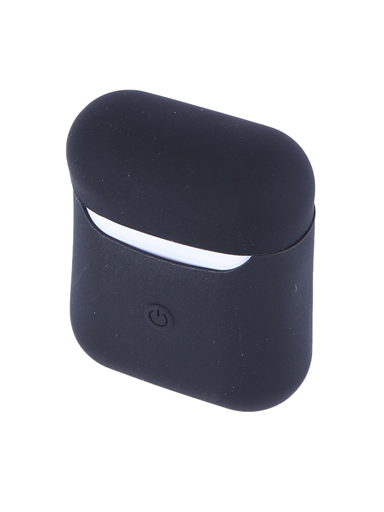Чехол Activ Soft Touch для Apple AirPods 2 Black 102568