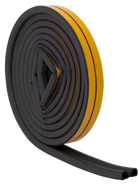 Уплотнитель резиновый Aviora D-профиль 6m Black 302-163