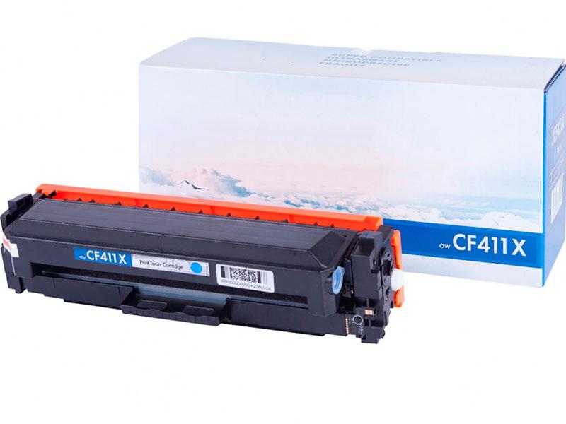Картридж NV Print CF411X Cyan для HP