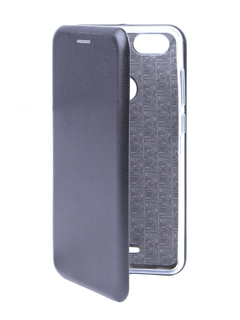 Аксессуар Чехол BQ для BQ-5500L Advance Экокожа + Silicon Black