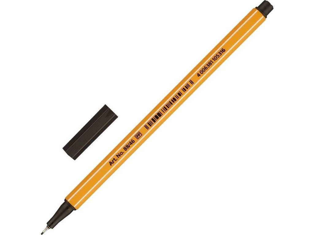 купить Ручка капиллярная Stabilo Point Orange 88/46 по цене 59 рублей