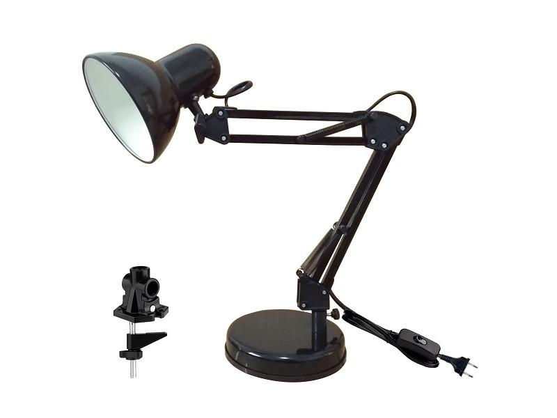 Настольная лампа Ультра Лайт МТ2001 Black