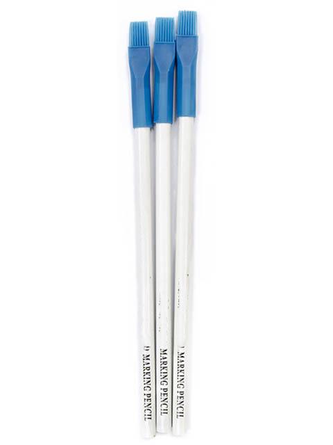 Меловые карандаши с кисточкой SewMate MP180-W(P) 3шт White