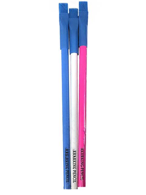 Меловые карандаши с кисточкой SewMate MP180-MIX(P) 3шт