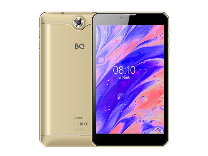 цена на Планшет BQ 7000G Charm 7 8Gb 3G Gold (Unisoc SC7731E 1.3GHz/1024Mb/8Gb/Wi-Fi/3G/Bluetooth/GPS/Cam/7.0/1280x800/Android)