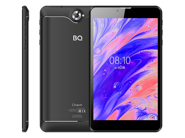 Планшет BQ 7000G Charm 7 8Gb 3G Black (Unisoc SC7731E 1.3GHz/1024Mb/8Gb/Wi-Fi/3G/Bluetooth/GPS/Cam/7.0/1280x800/Android)