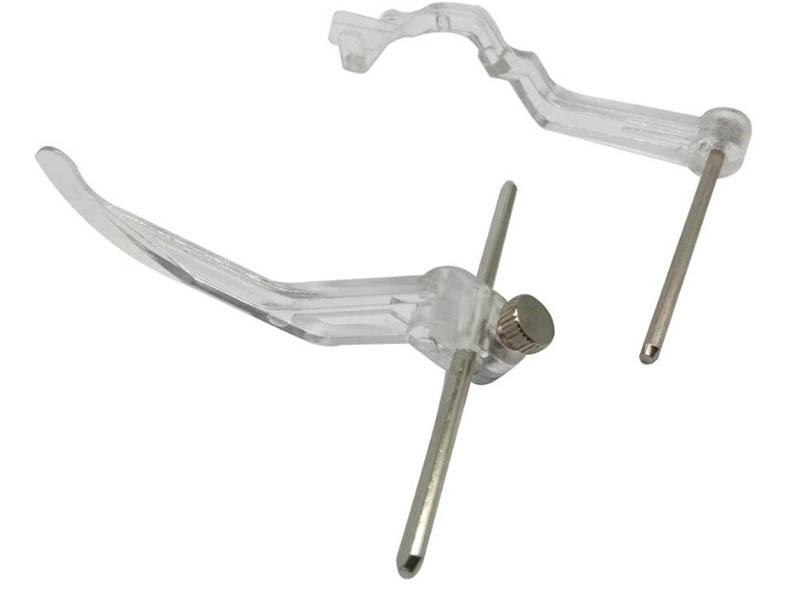 Комплект из 2-х направителей для стегания Janome 214518005 верхнего транспортера
