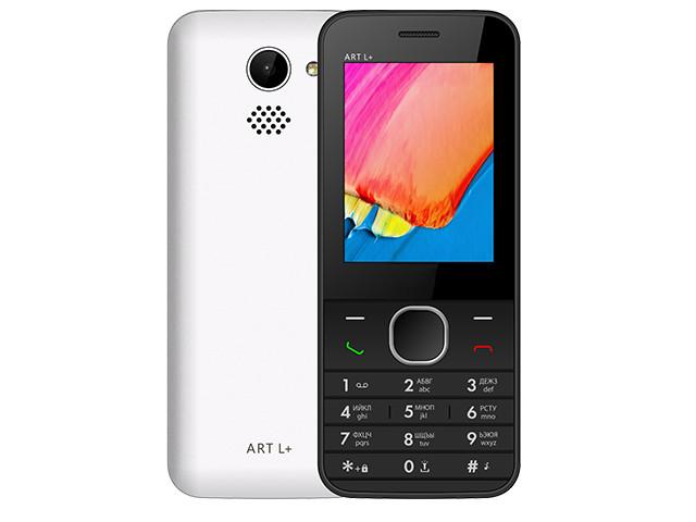 Сотовый телефон BQ 2438 ART L+ White