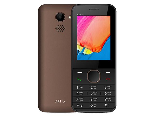 Сотовый телефон BQ 2438 ART L+ Brown