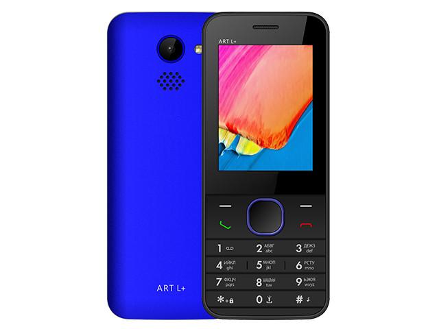 Сотовый телефон BQ 2438 ART L+ Blue