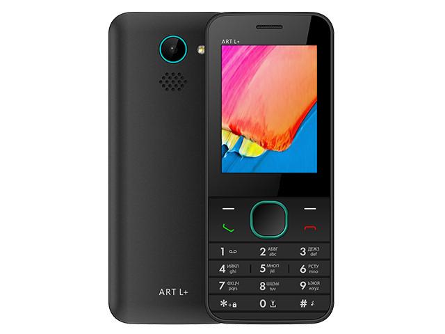 Сотовый телефон BQ 2438 ART L+ Black