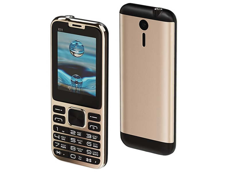 Сотовый телефон Maxvi X11 Metallic Gold