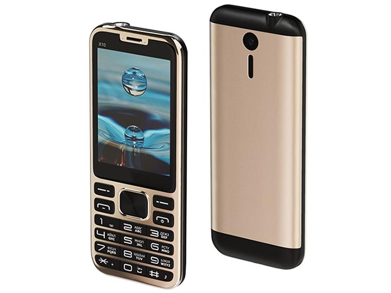 Сотовый телефон Maxvi X10 Metallic Gold