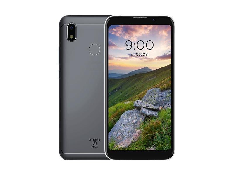 Сотовый телефон BQ 5535L Strike Power Plus Gray цена и фото